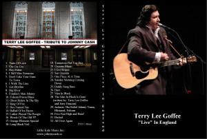DVD of Live in England Concert