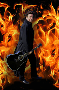 Terry Lee Goffee Flame background